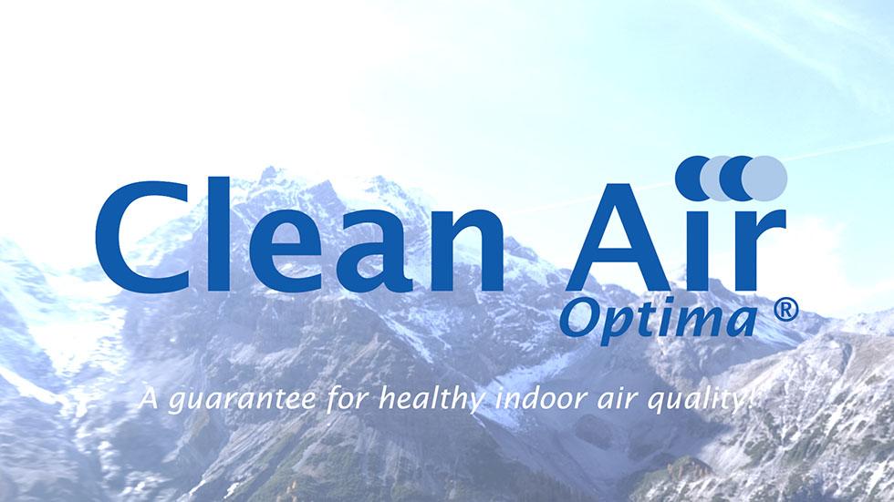 De ultrasoon luchtbevochtiger Clean Air Optima CA-604 werkt zonder chemische toevoegingen.