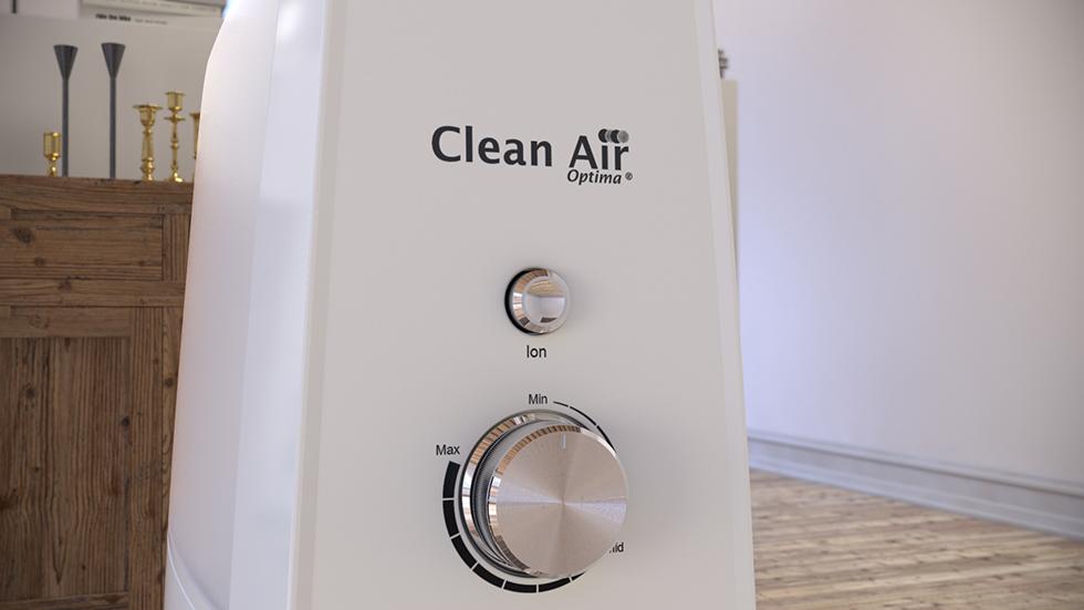 Ultrasoon luchtbevochtiging, Ultrasoon aromaverstuiver, Luchtreiniging door ionisator