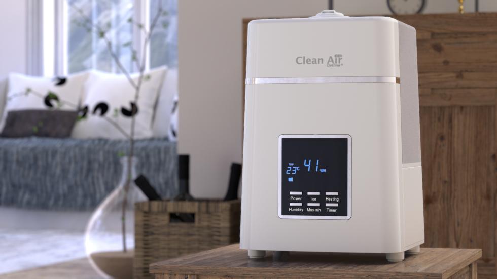De ionisator zorgt voor extra reiniging en het verfrissen van de binnenlucht. Juiste relatieve luchtvochtigheid is belangrijk voor de gezondheid van mens en dier.