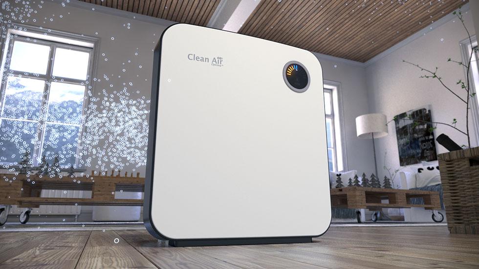 Luchtreiniger luchtbevochtiger luchtwasser Clean Air Optima CA-807